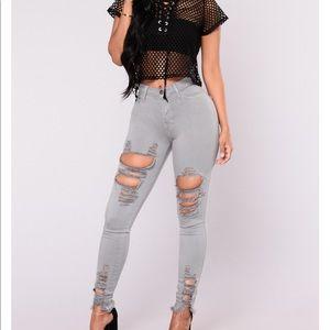 Fashion Nova Tell You Boy Bye Jeans